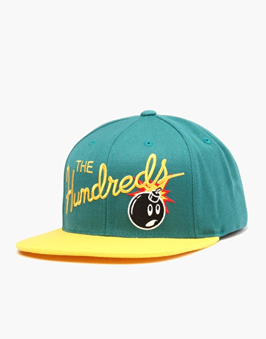 The Hundreds Nation Snapback Cap - Turqouise