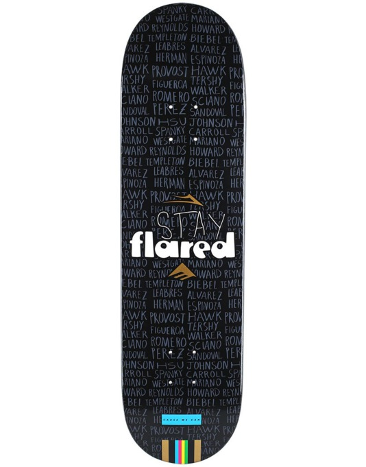 Lakai x Emerica Stay Flared Team Deck - 8.25""