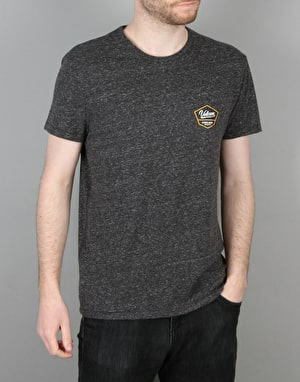 Volcom Patch T-Shirt - Heather Black