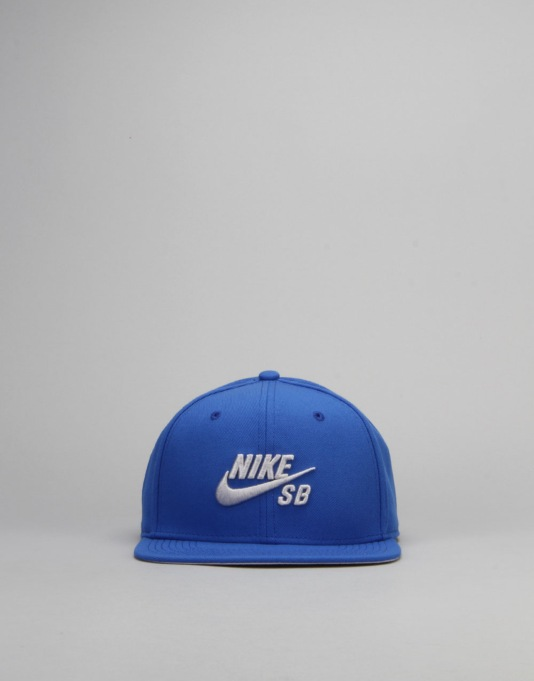 Nike SB Icon Snapback Cap - Game Royal/Wolf Grey/Black/Wolf Grey