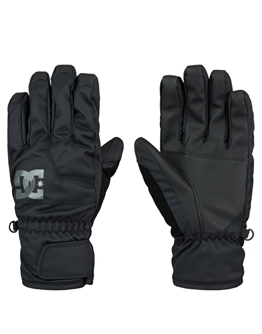 DC Seger 2016 Snowboard Gloves - Anthracite