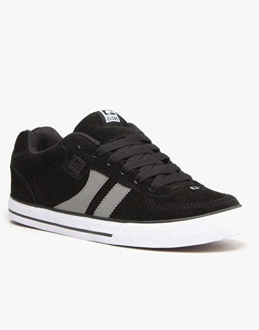 Globe Encore 2 Skate Shoes - Black/Silver
