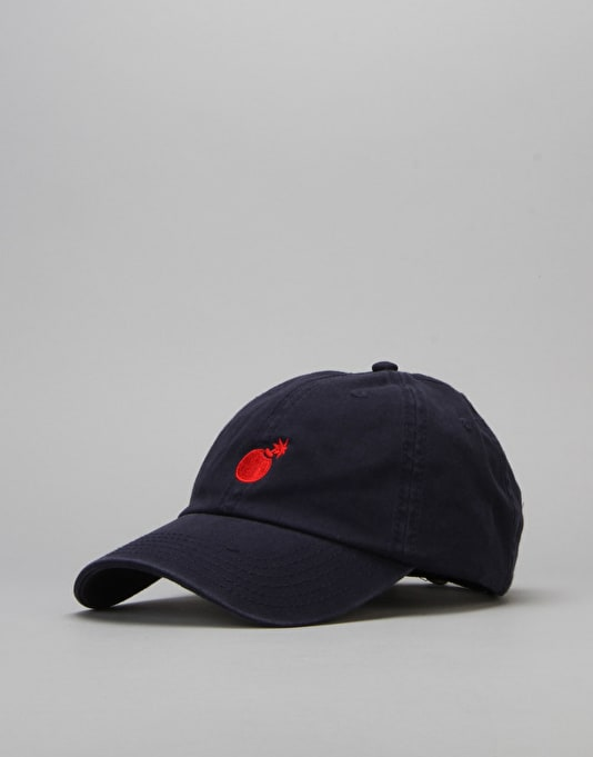 The Hundreds Solid Strapback Cap - Navy