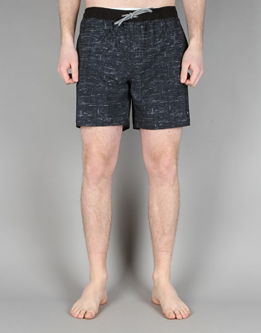 "Globe Spencer 16.5"" Poolshorts - Black"