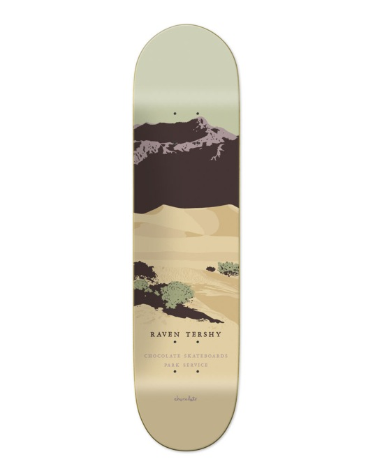 Chocolate Tershy Park Service Pro Deck - 8.5""