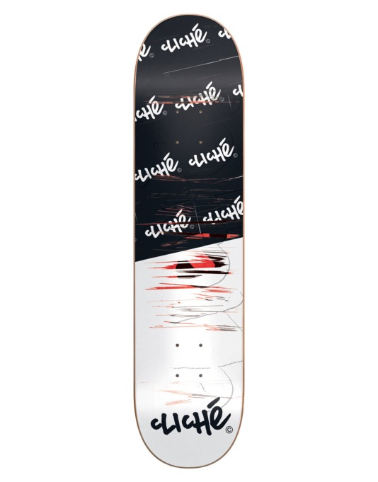 Cliché Handwritten Scratch Team Deck - 8.125""
