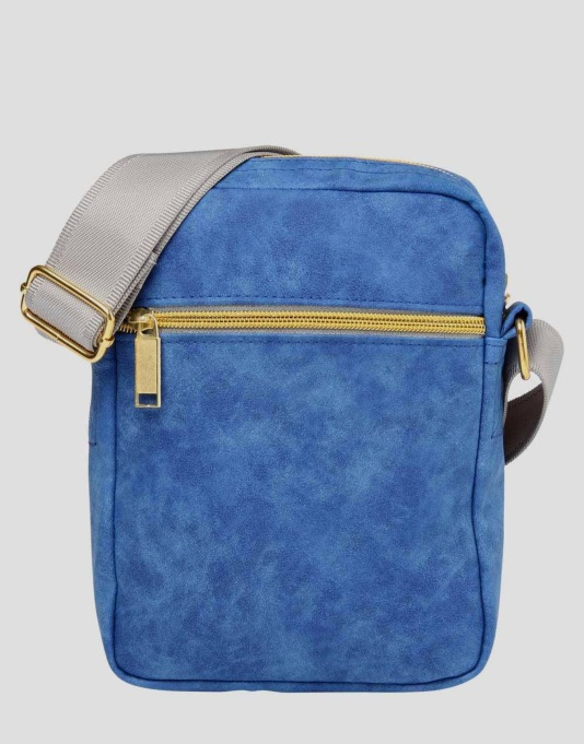 Mi-Pac Nubuck Flight Bag - Royal Blue