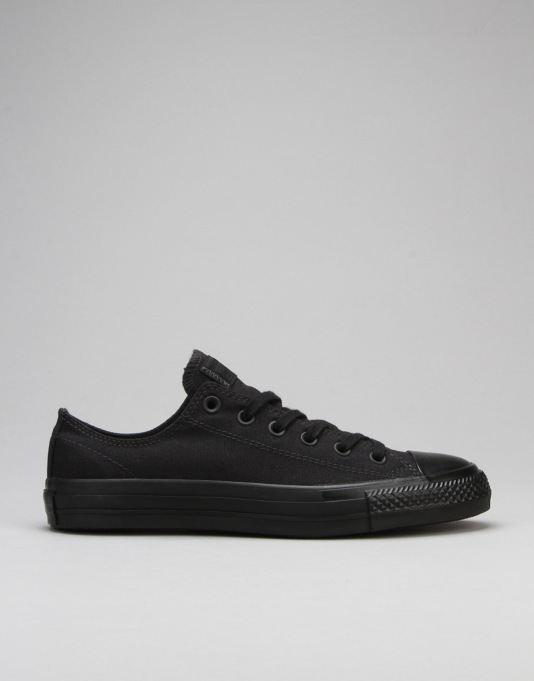 Converse CTAS Pro Skate Shoes - Black Mono