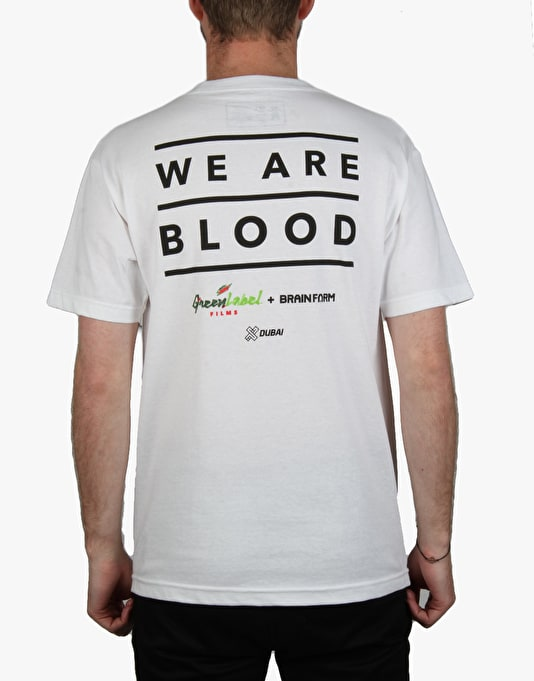 Grizzly x We Are Blood T-Shirt - White