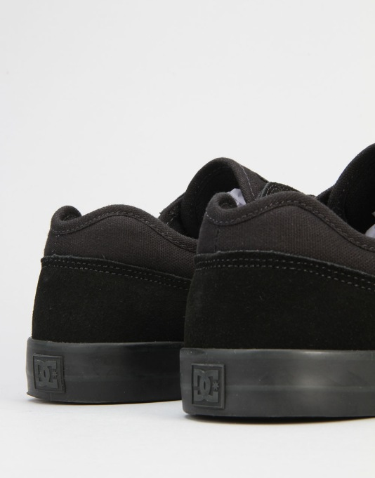 DC Tonik Skate Shoes - Black/Black
