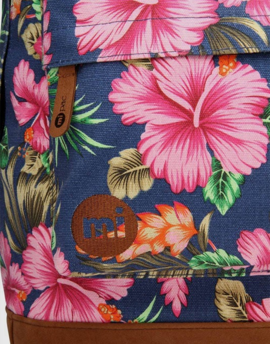 Mi-Pac Tropical Hibiscus Backpack - Blue