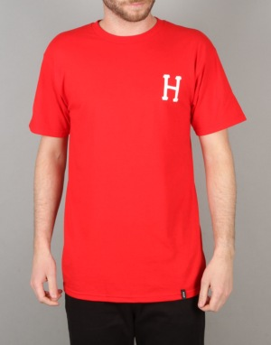 HUF x Thrasher Classic H T-Shirt - Red