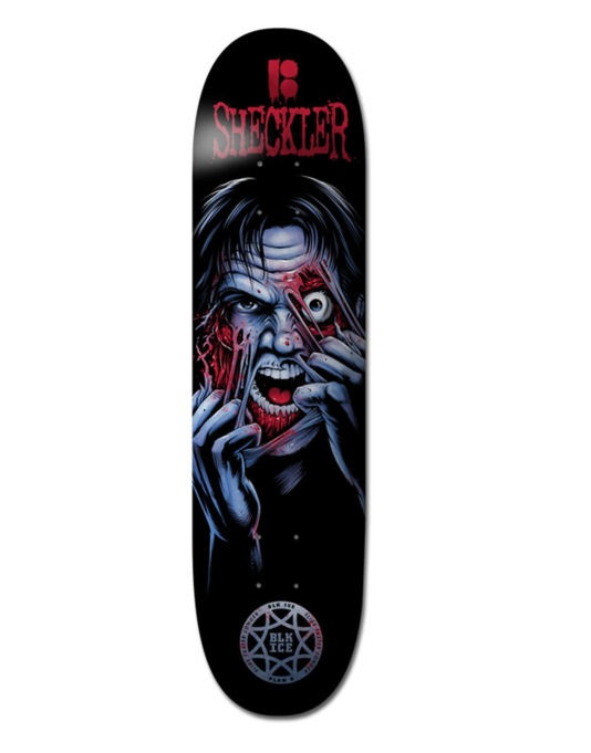 Plan B Sheckler Ripper BLK ICE Pro Deck - 8.25""