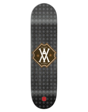 Chocolate Alvarez Monogram Pro Deck - 8.25
