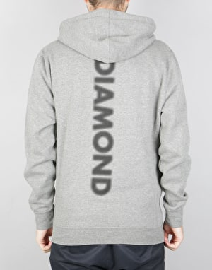 Diamond Supply Co. Blur Pullover Hoodie - Gunmetal Heather
