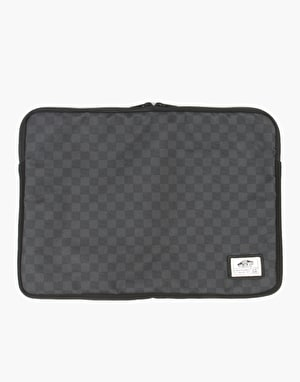 Vans Laptop Case - Black Checkerboard