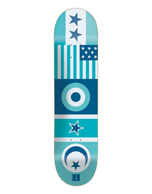 Chocolate Johnson Flags Pro Deck - 8.125""