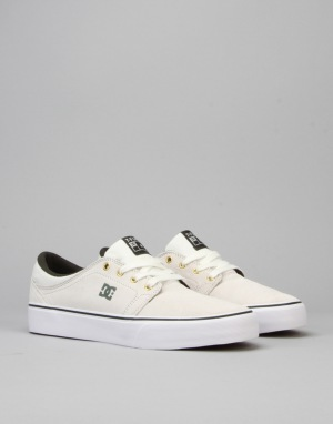 DC Trase S SE Tristan Skate Shoes - White/Green