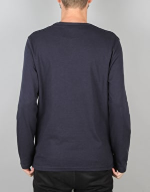 Champion Crewneck L/S T-Shirt - NVY