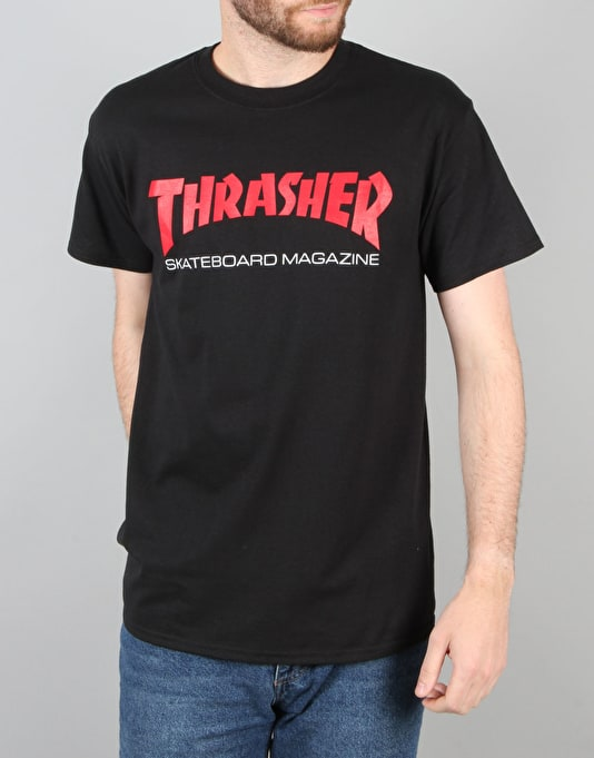 Thrasher Resurrection Logo T-Shirt - Black
