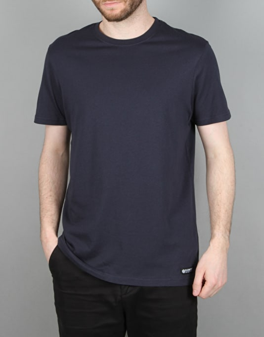 Element Basic Crew S/S T-Shirt - Eclipse Navy