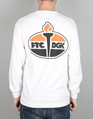 DGK x FTC Torch L/S T-Shirt - White