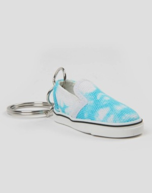 Vans Slip-On Keychain - Bachelor Blue