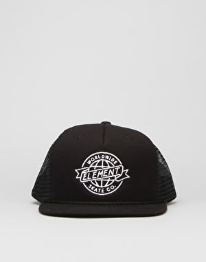 Element Skate Co Snapback Cap - Flint Black