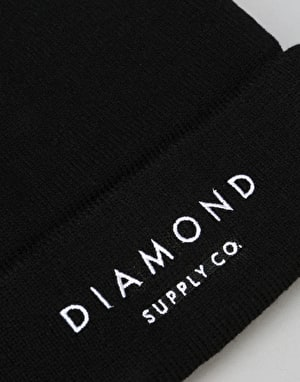 Diamond Supply Co. Diamond Beanie - Black