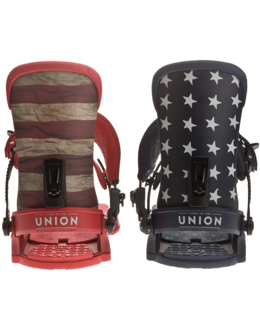 Union Superforce Custom House 2016 Snowboard Bindings - Multi