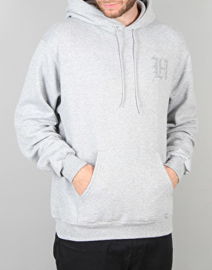 The Hundreds x Champion Line H Pullover Hoodie - Athletic Heather