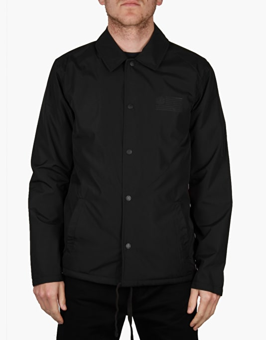 Element 92 Coach Jacket - Black