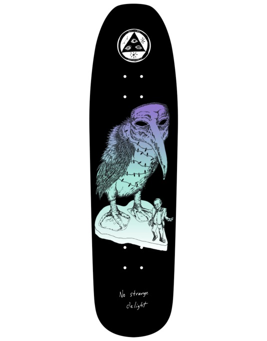 Welcome No Strange Delight on Nimbus 5000 Team Deck - 8.75""