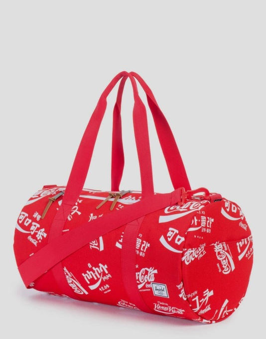 Herschel Supply Co. Coca Cola Collection Sparwood Duffel Bag - Red