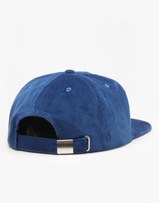 The National Skateboard Co. Anti Fit 6-Panel Cap - Navy
