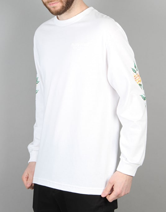 Pass Port Rosa Offical Puff L/S T-Shirt - White