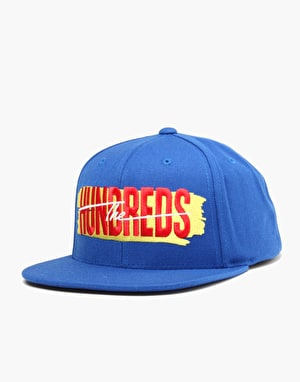 The Hundreds Hail Mary Snapback Cap - Blue