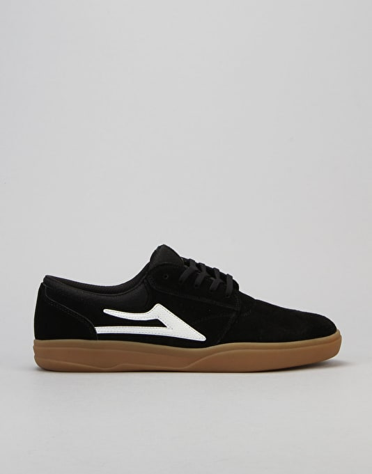 Lakai Griffin XLK Skate Shoes - Black/Gum Suede
