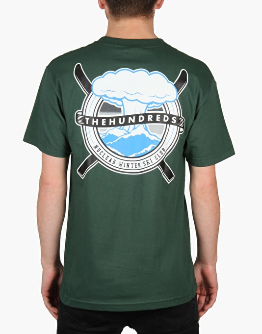The Hundreds Ski Club T-Shirt - Dark Green