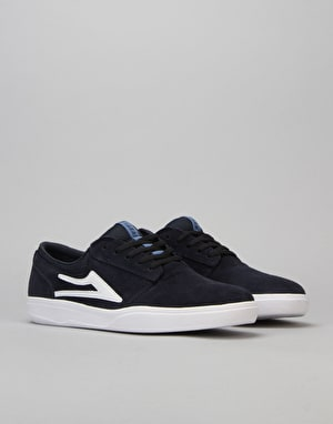Lakai Griffin XLK Skate Shoes - Navy Suede