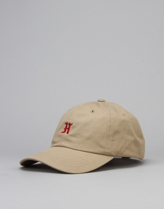 The Hundreds Old H Strapback Cap - Khaki