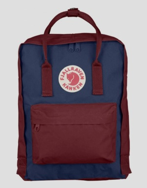 Fjällräven Kånken Backpack - Royal Blue/Ox Red