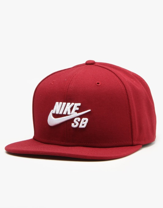 Nike SB Icon Snapback Cap - Team Red/Team Red/Black/White