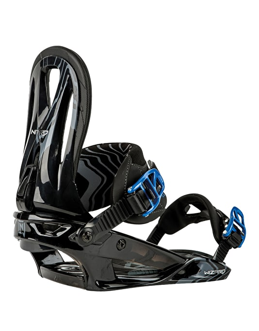 Nitro The Wizard 2016 Snowboard Bindings - Black