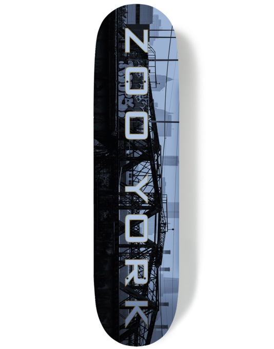 Zoo York Golden Era Metropolis Series - Infastructure Team Deck - 8""