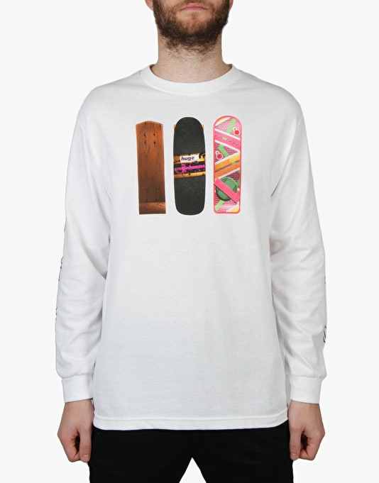 The Hundreds x Back to the Future Generations L/S T-Shirt - White