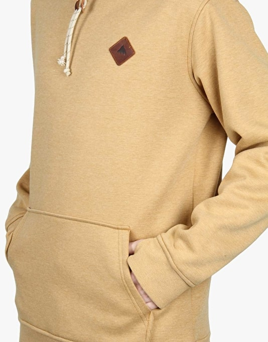 Burton Distill 2016 Snowboard Pullover Hoodie - Wood Thrush Heather