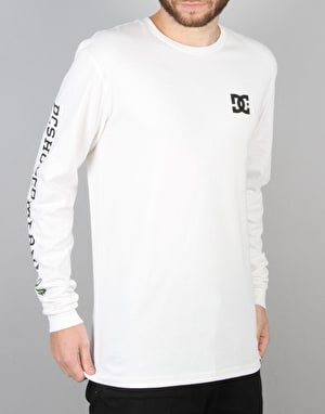 DC Awarded 94 L/S T-Shirt - White