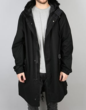 Bellfield Delta Parka Jacket - Black