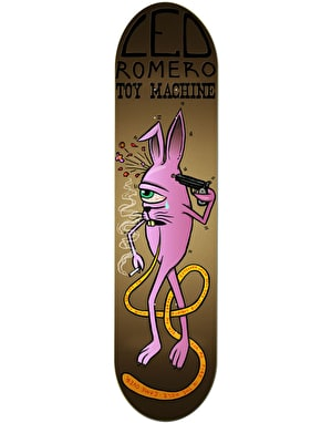 Toy Machine Romero Bunny Sect Pro Deck - 8